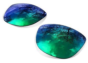 sunglasses restorer Lentes Polarizadas Sapphire Green para Oakley Frogskins