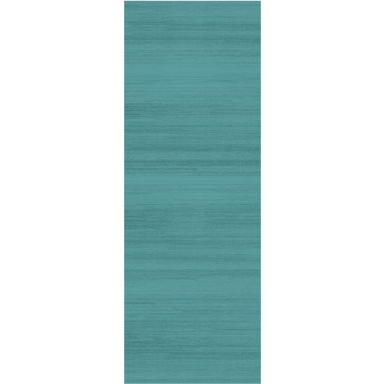 RUGGABLE Washable Stain Resistant Pet Dog Runner Rug for Indoor/Outdoor - Solid Textured Ocean Blue 2.5' x 7' Runner Rug by RUGGABLE