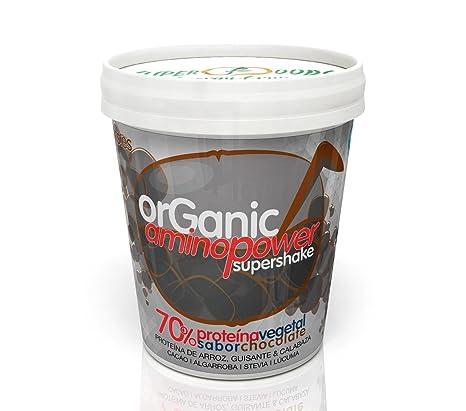 Energy Feelings Organic Aminopower Ecológico 70% de Proteínas con Sabor Chocolate, Tarrina - 250