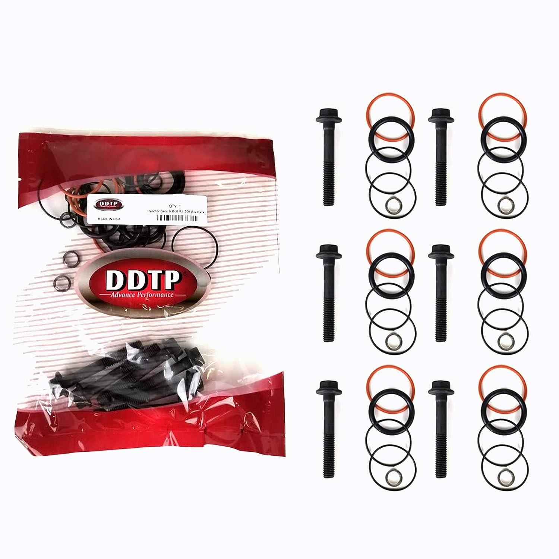 DDTP SK08929393DSET Detroit Diesel Engine Series 60 12.7L Injector Seal and Bolt Kit