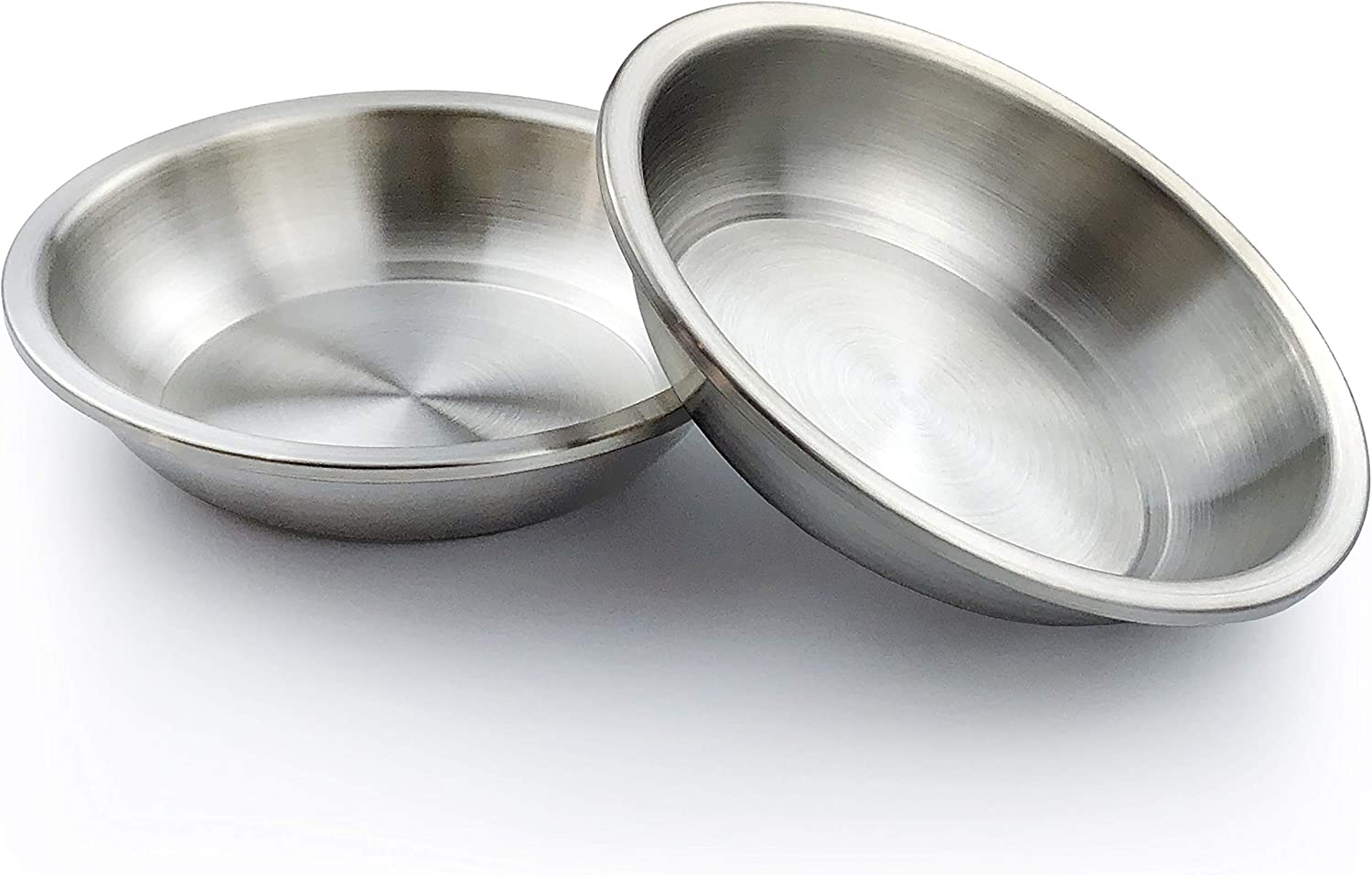 KOOLDOG Stainless Steel Dog Bowl-(2 Bowl Set), Premium Feeding Bowls for Small Dog, Cat and Puppy, Metal Feeder for Food and Water, Fits with Kooldog Elevated Pet Bowl Stand