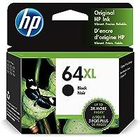 Original HP 64XL Black High-yield Ink Cartridge | Works with HP ENVY Photo 6200, 7100, 7800… photo