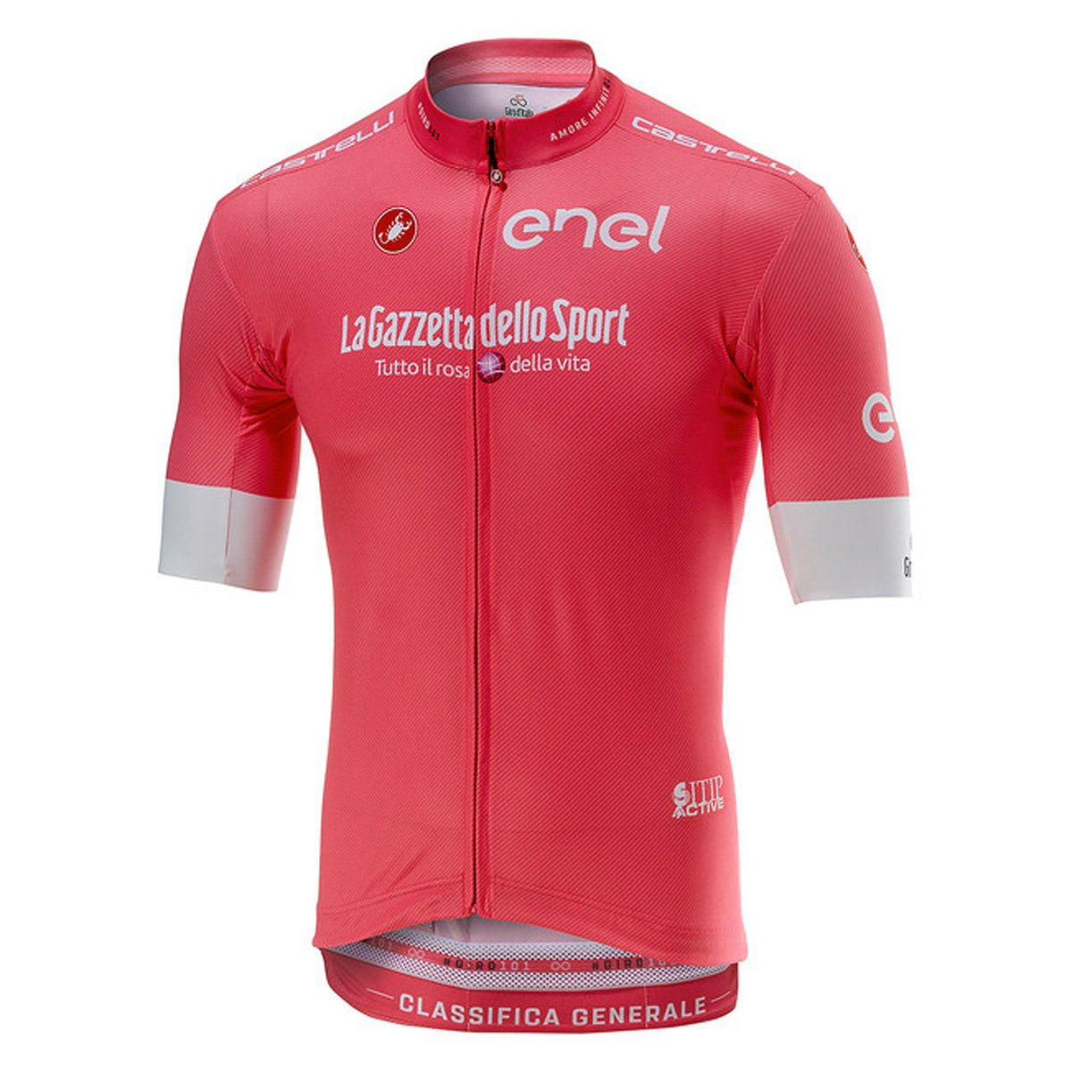 Castelli Giro d'Italia 101 Squadra Maglia Rosa