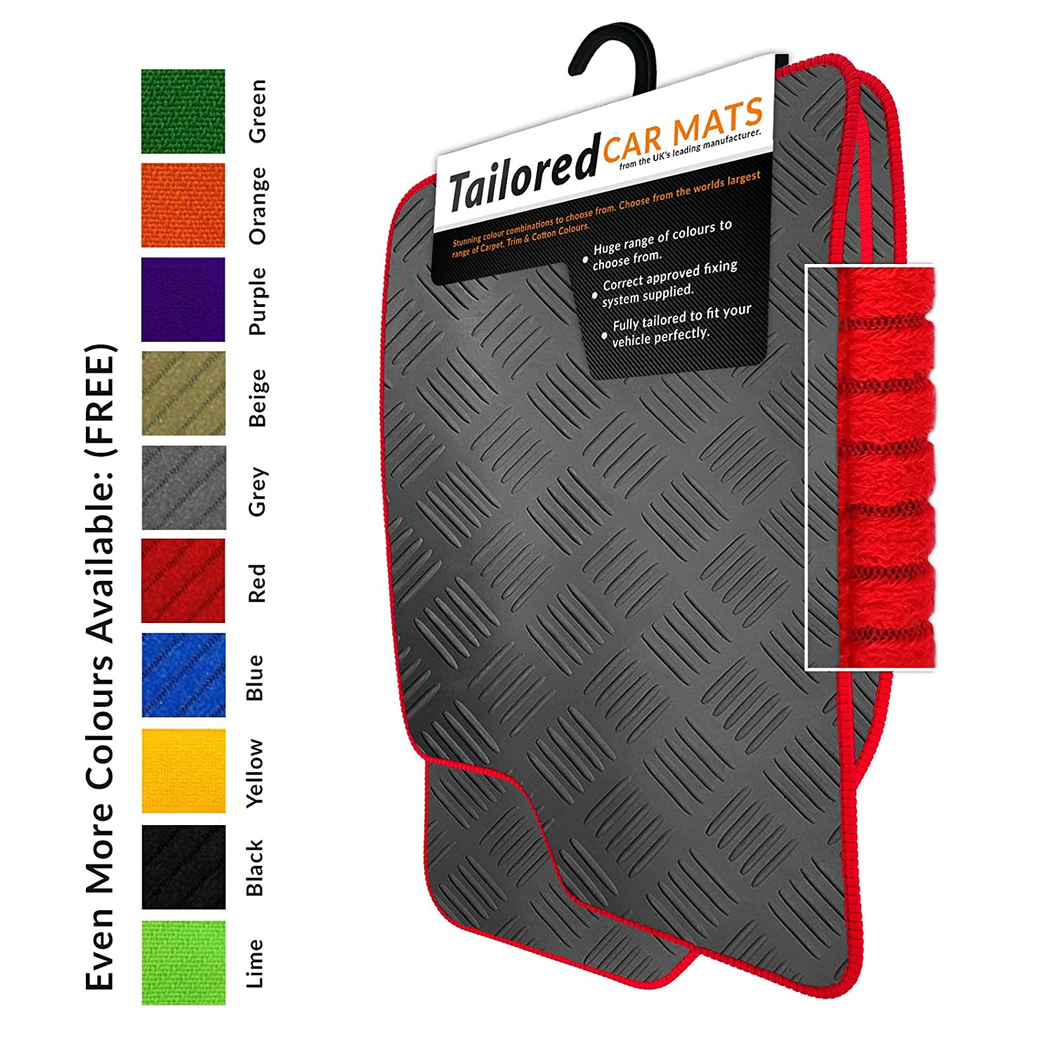 Tailored Rubber Car Mats Unique Car Mats