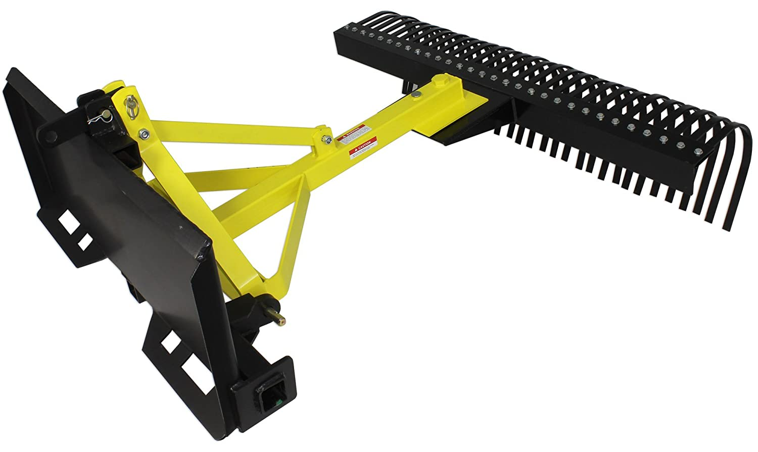 Amazon.com: Skid Steer Landscape Rake Soil Gravel Lawn Tow Push 3 point  Tractor 5 ft York: Home & Kitchen - Amazon.com: Skid Steer Landscape Rake Soil Gravel Lawn Tow Push 3