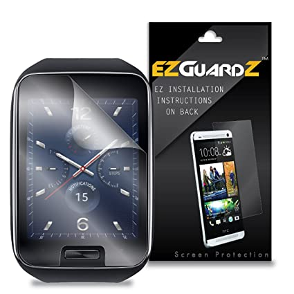 (3-Pack) EZGuardZ Screen Protector for Samsung Gear S Smartwatch (Ultra Clear)