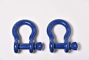 """Screw Pin Anchor Shackle Clevis Bow Lifting Pulling 3//4/"""" and 7//8/"""""""