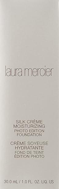 Laura Mercier Silk Creme Moisturizing Photo Edition Foundation - #Medium Ivory 30ml: Amazon.es: Belleza