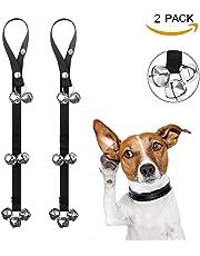 Dog Training Doorbell,ZyMotorized 2 Pack Dog Doorbells for Dog Training Adjustable Door Bell for Puppy