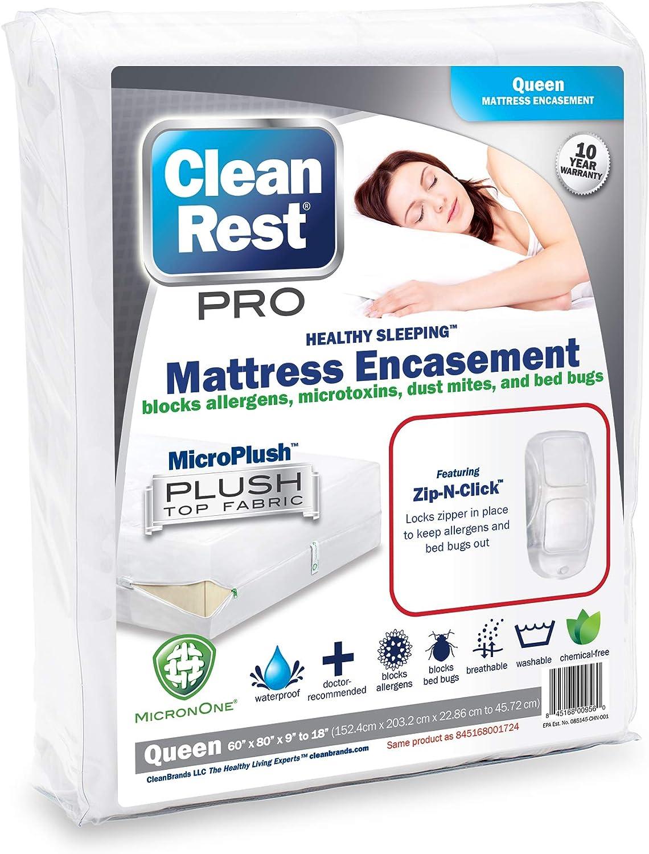 Hyopallergenic bedbug mattress encasement