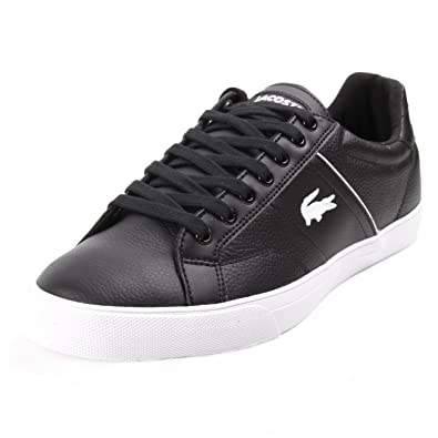 Lacoste Men s Trainers Black Size  6  Amazon.co.uk  Shoes   Bags 93cabe0bba