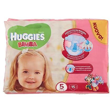 Huggies - Bimba - Pañales - Talla 5 (11-25 kg) - 15