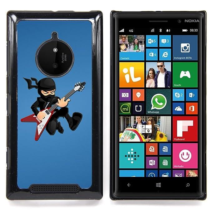 For Nokia Lumia 830 , S-type Ninja estrella del rock