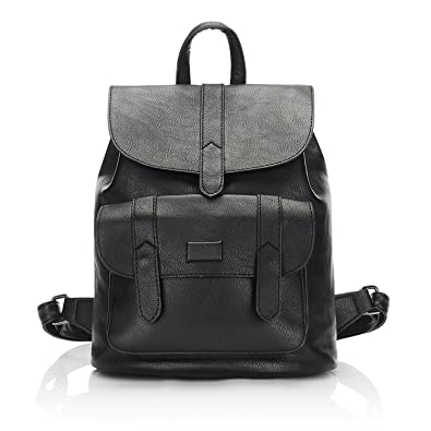 Image Unavailable. Image not available for. Color  Fashion women leather  backpack for teengaers girls famous designer cute school bags ... a0693d0a754bb