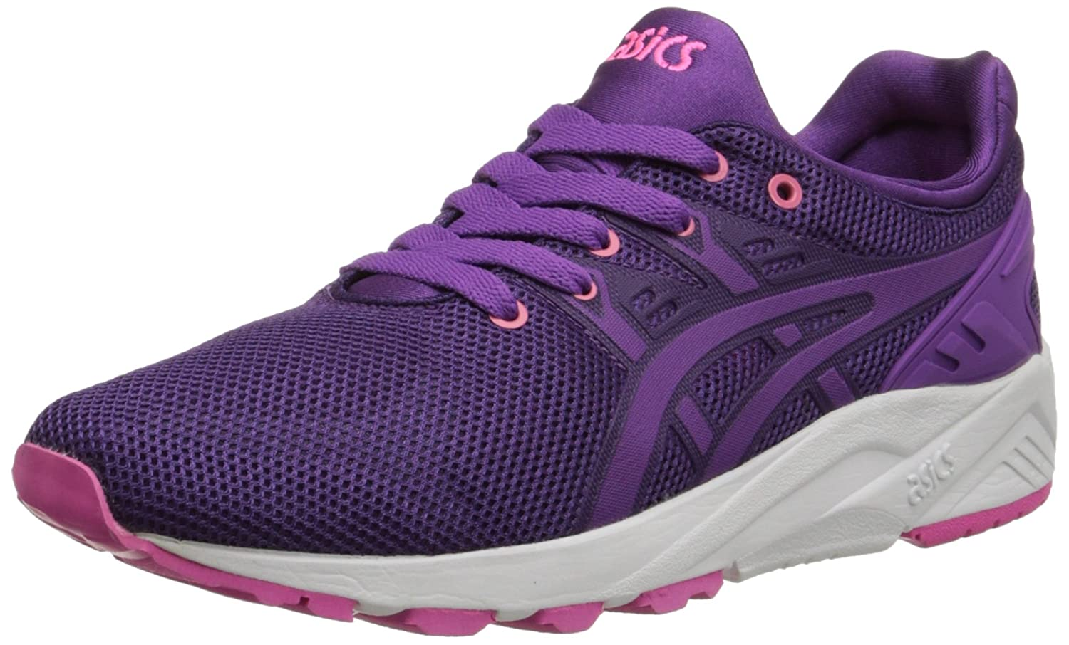 Asics Women's Gel Kayano Trainer Retro Running Shoe, Plum/Purple, 6 M US