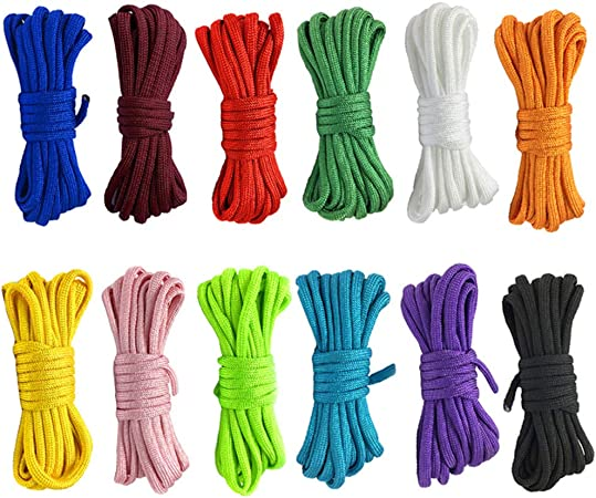 3 Meters Paracord Lanyard Rope  Parachute Cord  Climbing Camping Rope Hiking  Colour Options