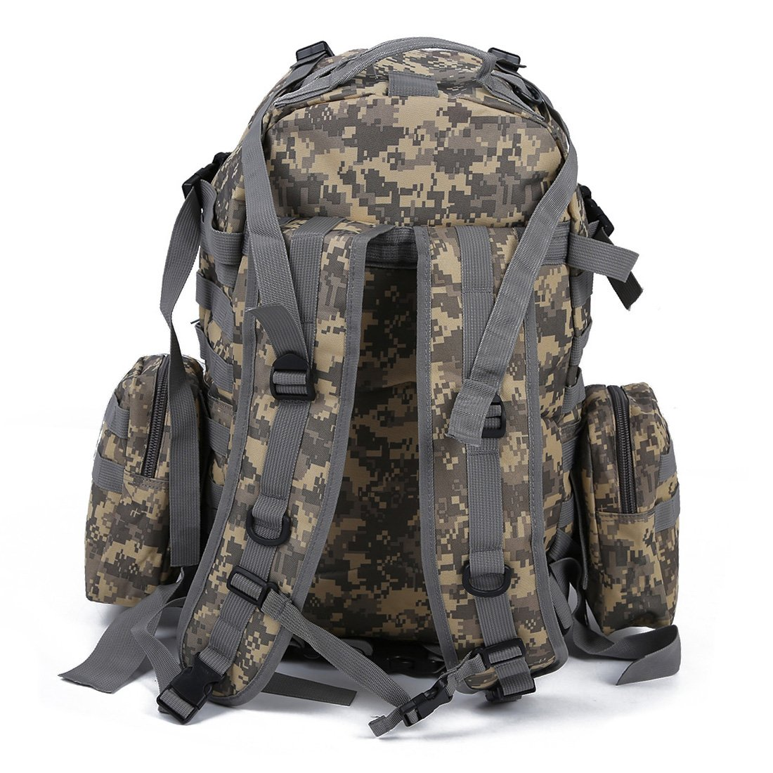 43856cf70840 Amazon.com   TOOGOO(R) 50 L 3 Day Assault Tactical Outdoor Military  Rucksacks Backpack Camping bag - AUC   Sports   Outdoors