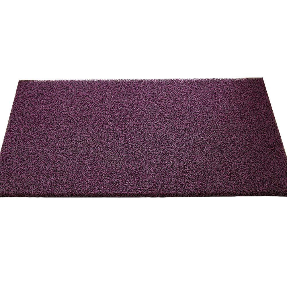 A 120x150cm JIAJUAN Doormat Non-Slip Wear Resistant Entrance Floor Mat Effective Scraping Dirt Door Mat Indoor Outdoor, 14mm, 4 colors, 12 Sizes (color   C, Size   100x120cm)