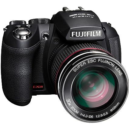 amazon com fujifilm finepix hs20 16 mp digital camera with exr bsi