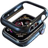 PZOZ Apple Watch 4 44mm ケース アップルウォッチ カバー 超簿 耐衝撃性 Apple Watch Series 4(ブラック)