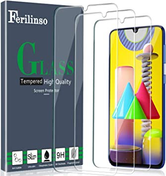 Ferilinso Cristal Templado para Samsung Galaxy M31, M21, M30S,A50 ...