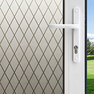 product image for Gila 50188238 Frosted Lattice Decorative Privacy Control Static Cling 36 x 78-INCH (3 6.5 ft.) Window Film, 36in x 78in
