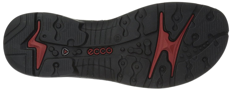 ECCO Women's Yucatan Sandal B076ZXLZCS 40 EU/9-9.5 M US|Black/Powder