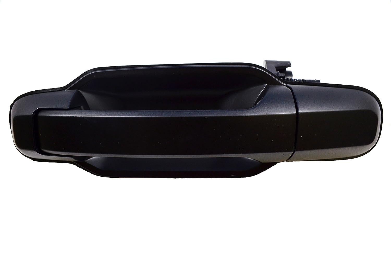 PT Auto Warehouse KI-3550P-RL - Outside Exterior Outer Door Handle, Primed Black - Driver Side Rear
