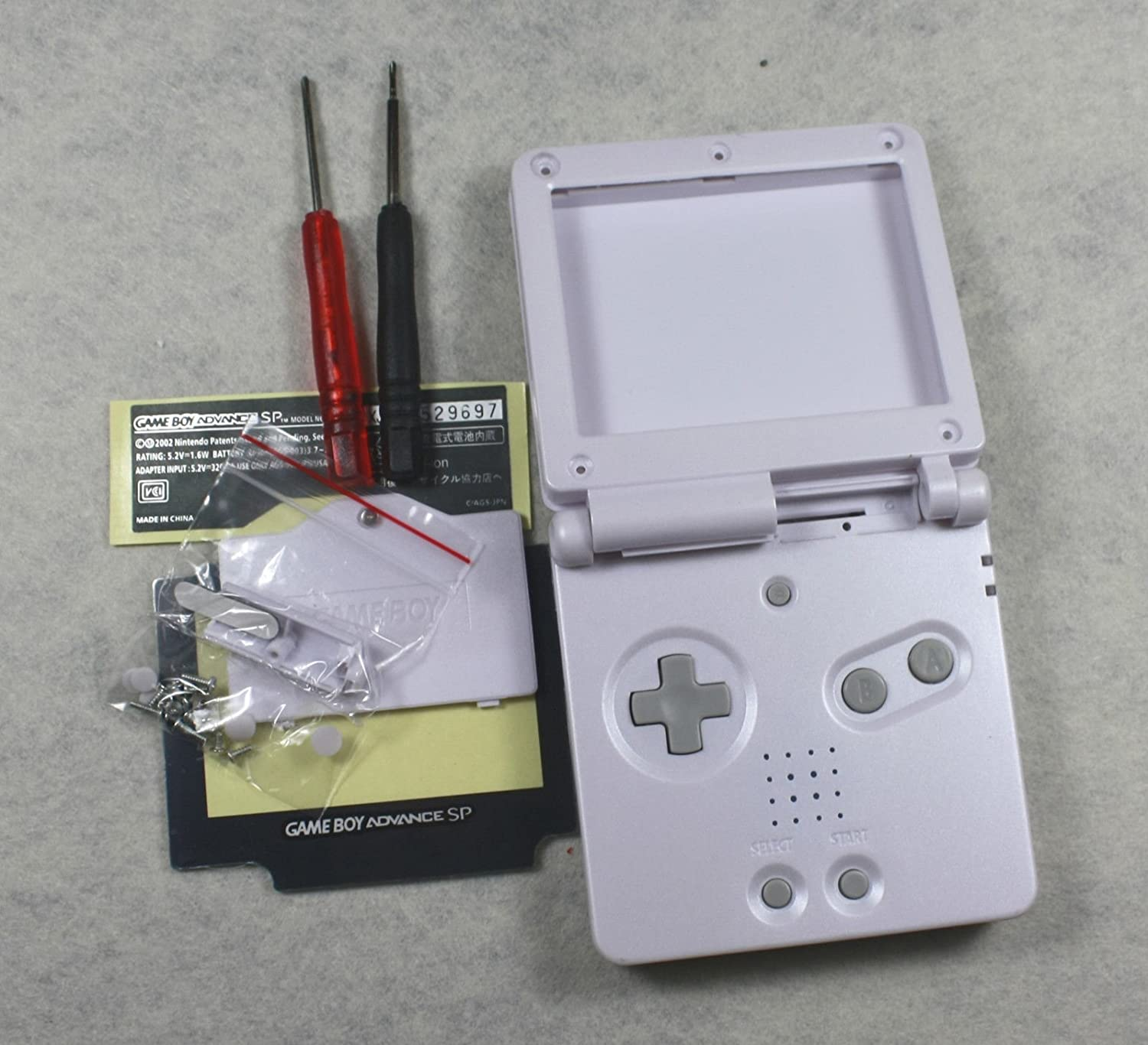 Vivi Audio - Carcasa para GBA SP Gameboy Advance SP, Color ...