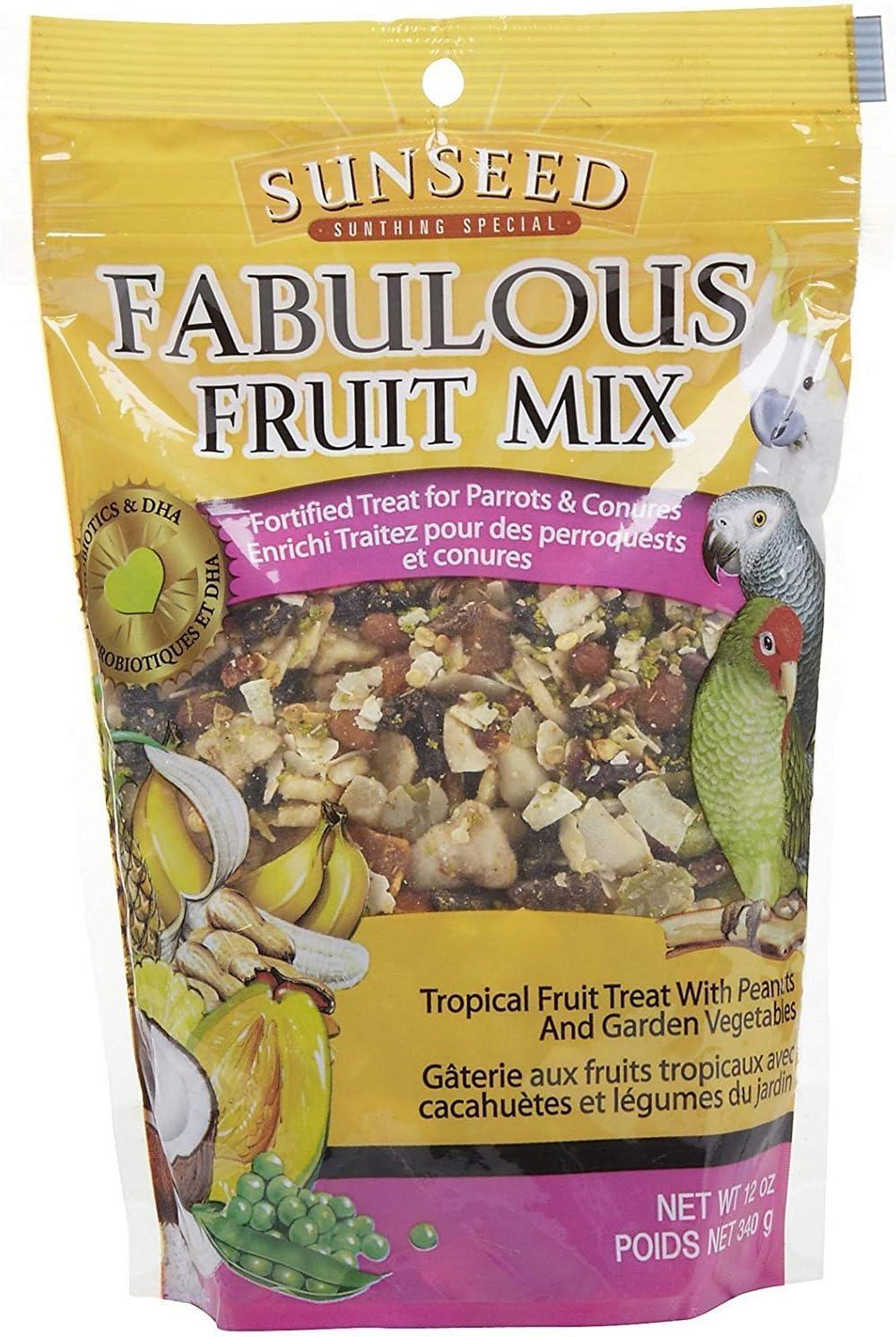 Fabulous Fruit Mix For Parrots & Conures