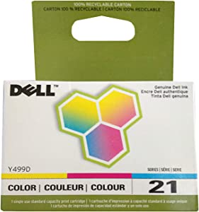 Dell 21 Color Ink Cartridge (XG8R3/330-5274/Y499D)