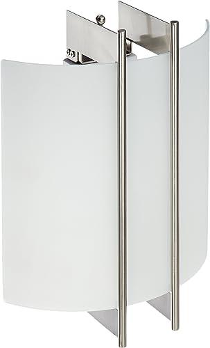 Lite Source LS-1673 Checks Polished Steel 60-watt Wall Sconce
