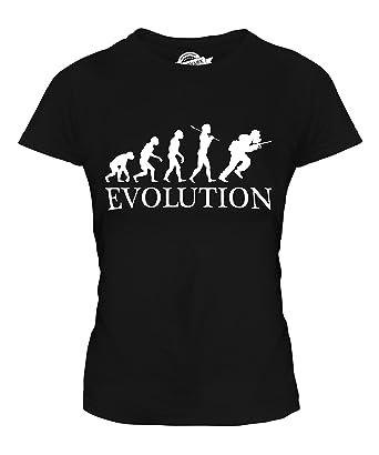 Review CandyMix Women's Speedball Evolution Of Man T Shirt Fitted T-Shirt Top