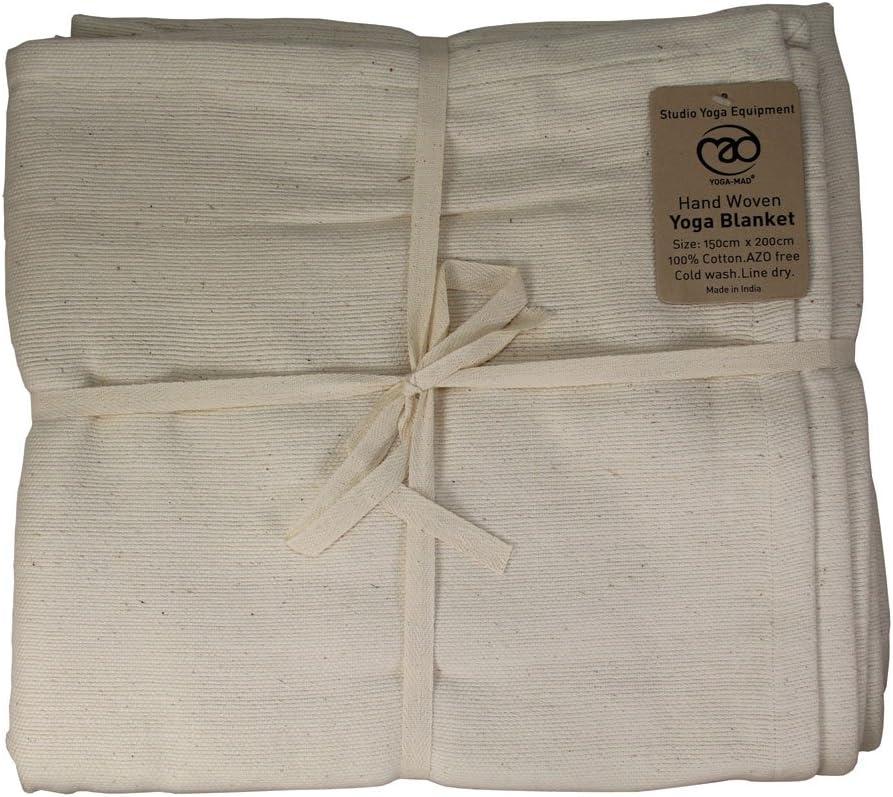 Yoga-mad - Esterilla de algodón para Yoga (Tejida a Mano), Color ...
