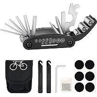 TBoonor Fiets-multitool, 16-in-1 fiets gereedschap multifunctioneel gereedschap fiets reparatieset pocket tool…