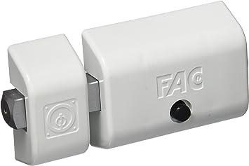 Fac seguridad 446-rp - Cerrojo /80 bobina 70mm magnet uve blanco: Amazon.es: Bricolaje y herramientas