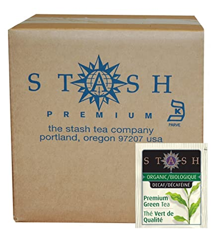 Stash Tea Organic Decaf Premium Green Tea, 18 bolsas de té ...