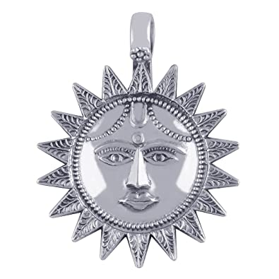 Buy silver prince 117 grm pure silver sun pendant online at low silver prince 117 grm pure silver sun pendant mozeypictures Image collections