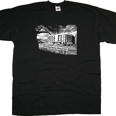 67256084057 Old Skool Hooligans Garth Marenghi s Darkplace T shirt - Darkplace Hospital  (S) Black