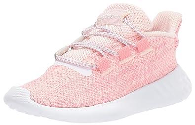 d7fc5e515d8c adidas Originals Baby Tubular Dusk EL Running Shoe ice Pink Super pop Chalk  White