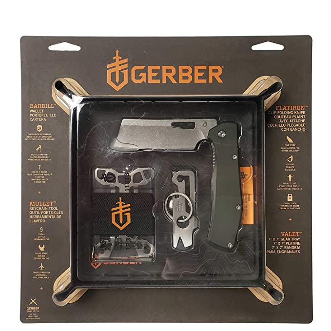 Gerber 4 Piece Travel Utility Combo Tool Kit