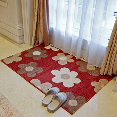 KYL YUE Casa moderna y simple casa felpudos en el pasillo/[felpudo casa escaleras]/ rectangular de salón dormitorio alfombras y puerta de la escalera esteras-H 80x100cm(31x39inch): Amazon.es: Hogar