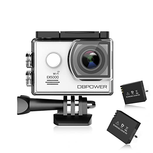 998 opinioni per DBPOWER® EX5000 Originale Versione WIFI 14MP FHD Sport Action Camera