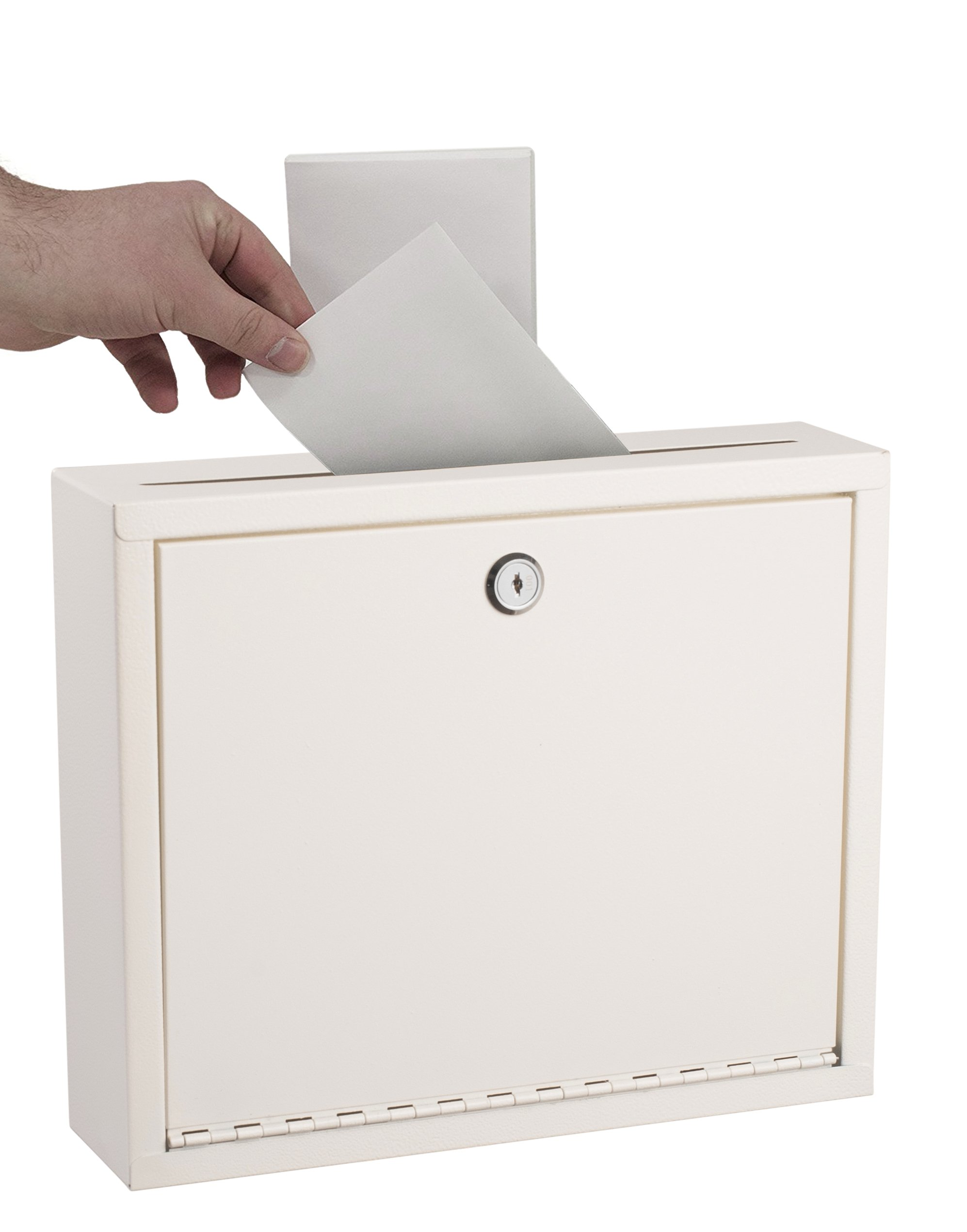 Adir Corp. Multi Purpose Large Size Suggestion Box (White)