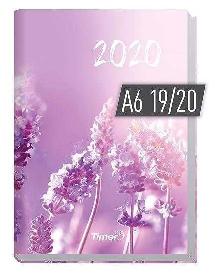 Taschenrechner Kalender 2019 Terminplaner A5 2 Fächer Terminkalender schwarz