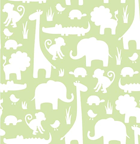 Nuwallpaper Green Its A Jungle In Here Peel And Stick Wallpaper Amazon Co Uk Kitchen Home