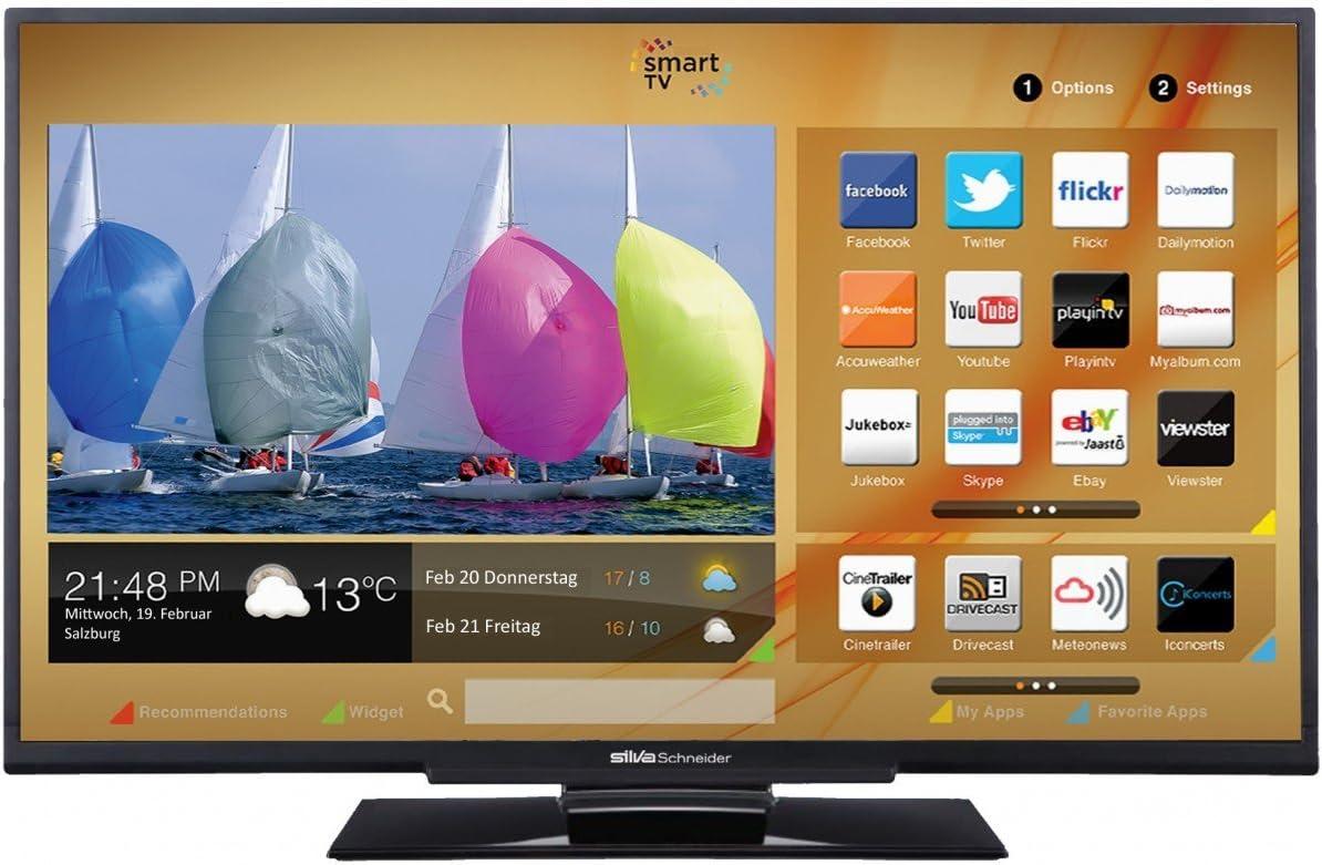 Silva Schneider LED S 40,72 T2Cs televisor LED 40 /102 cm de la Pantalla Full HD: Amazon.es: Electrónica