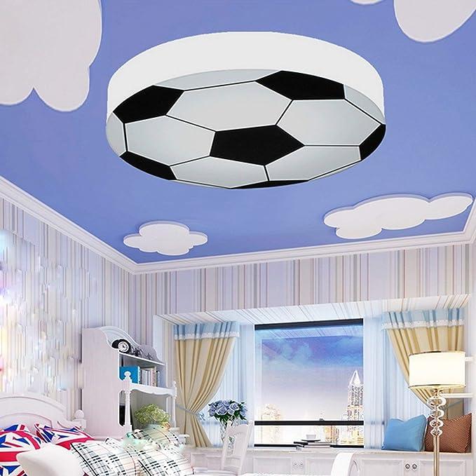 Kinderzimmer Licht Kreativ Fußball Deckenleuchte Moderne LED Junge Mädchen  Augenschutz Deckenleuchte E27 Wohnzimmer Schlafzimmer Kindergarten  Dekoration ...