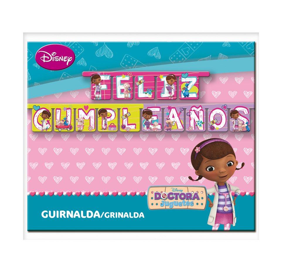 Doctora Juguetes - Guirnalda feliz cumpleaños (Verbetena 014000814)