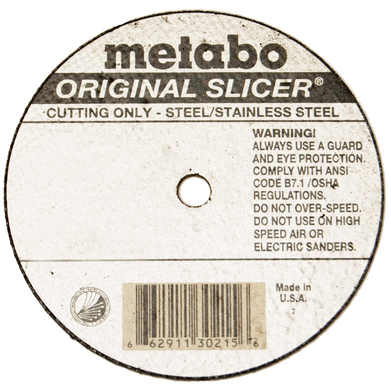 Metabo Slicer Cut Off Wheel 6'' X .040'' Box 100